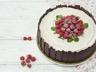 Gâteau au yaourt à la framboise et au chocolat