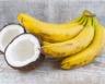 Gâteau au yaourt banane et noix de coco râpée
