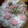 Gâteau aux spéculos et chocolat blanc
