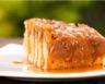 Gâteau breton aux pommes caramélisées maison