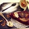 Gâteau choco poires et marrons