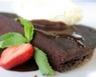 Gateau chocolat vanille