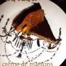 Gâteau crème de marrons et chocolat