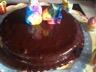 Gâteau crème de marrons (et glaçage au chocolat noir)