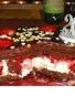 Gâteau d'anniversaire chocolat/framboises