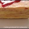Gâteau de crêpes aux citrons et son coulis de framboises