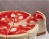 Gâteau de fromage blanc au coulis de fraises