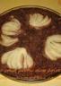 Gâteau de pain perdu chocolat et poires