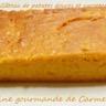 Gâteau de patates douces et carottes