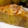 Gâteau de pommes au cidre amandes et sarasin