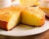Gâteau de semoule au lait et à la noix de coco