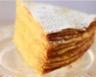 Gâteau étagé aux crêpes