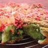 Gâteau façon Chinois en Rose et Vert