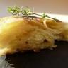 Gâteau fondant de pommes de terre