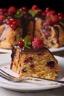 Gâteau groseilles myrtilles framboises