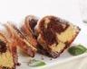 Gâteau marbré chocolat-vanille sans beurre