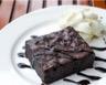 Gâteau moelleux au chocolat noir simple