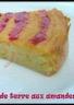 Gâteau moelleux aux amandes & pomme de terre