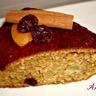 Gâteau moelleux aux cranberries poires son d'avoine sans beurre