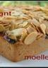 Gâteau moelleux & craquant aux prunes & aux amandes