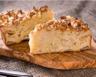 Gâteau moelleux pomme canelle et crème fraîche