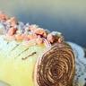 Gâteau roulé framboises et lemon curd