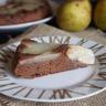 Gâteau ultra moelleux au chocolat à la poire et au gingembre