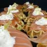 Gaufres de pomme de terre au saumon fumé faciles