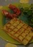 Gaufres de pommes de terre au noix de muscade