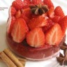 Gelée de fraises épicées et sa Panna Cotta
