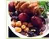 Gigue de chevreuil aux fruits d'automne