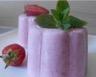 Glace à la fraise ( Sans sorbetière)