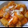 Gnocchis de pommes de terre sauce tomatée