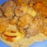 Gnocchis de poulet à la courge butternut et à la crème