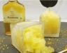 Granité à la Liqueur de Mandarine et sucettes au chocolat aux fèves de tonka et zestes de clémentine