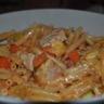 Gratin de macaronis au poulet