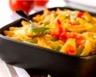 Gratin de pâtes aux légumes et au thon