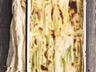Gratin de poireaux aux roquefort et noix