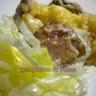 Gratin de pommes de terre au Comté et à la saucisse de Morteau