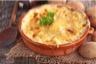 Gratin de pommes de terre au fromage à raclette
