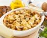 Gratin de pommes de terre aux champignons et raclette