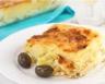 Gratin de pommes de terre mozzarella tomates et olives