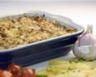 Gratin de porc aux aubergines à l'ail rose de Lautrec
