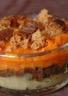 Gratin de potiron et oignon en 2 versions : boudin/pain d'épices ou raclette