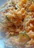 Gratin de risotto aux courgettes et au chorizo