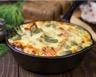 Gratin de riz aux légumes d'hiver coppa et cantal râpé