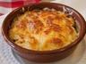 Gratin lardons poireaux et pommes de terre