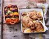 Grillade de veau marinée à l'ail rose romarin et citron