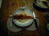 Grondins rôtis et sa sauce crémeuse au vin blanc et au pastis