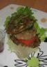 Hamburger aux galettes croustillantes